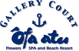 gallery court Ofa Atu SPA BEACH RESORT